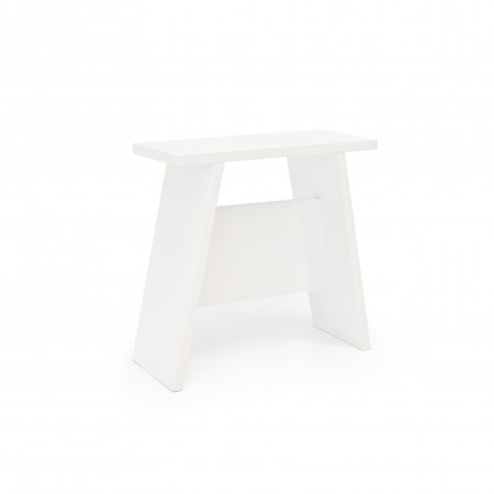 Table d'appoint Alyne blanche