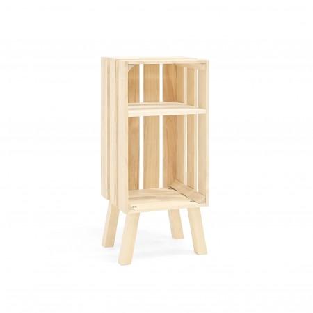 Table de chevet Box verticale naturelle