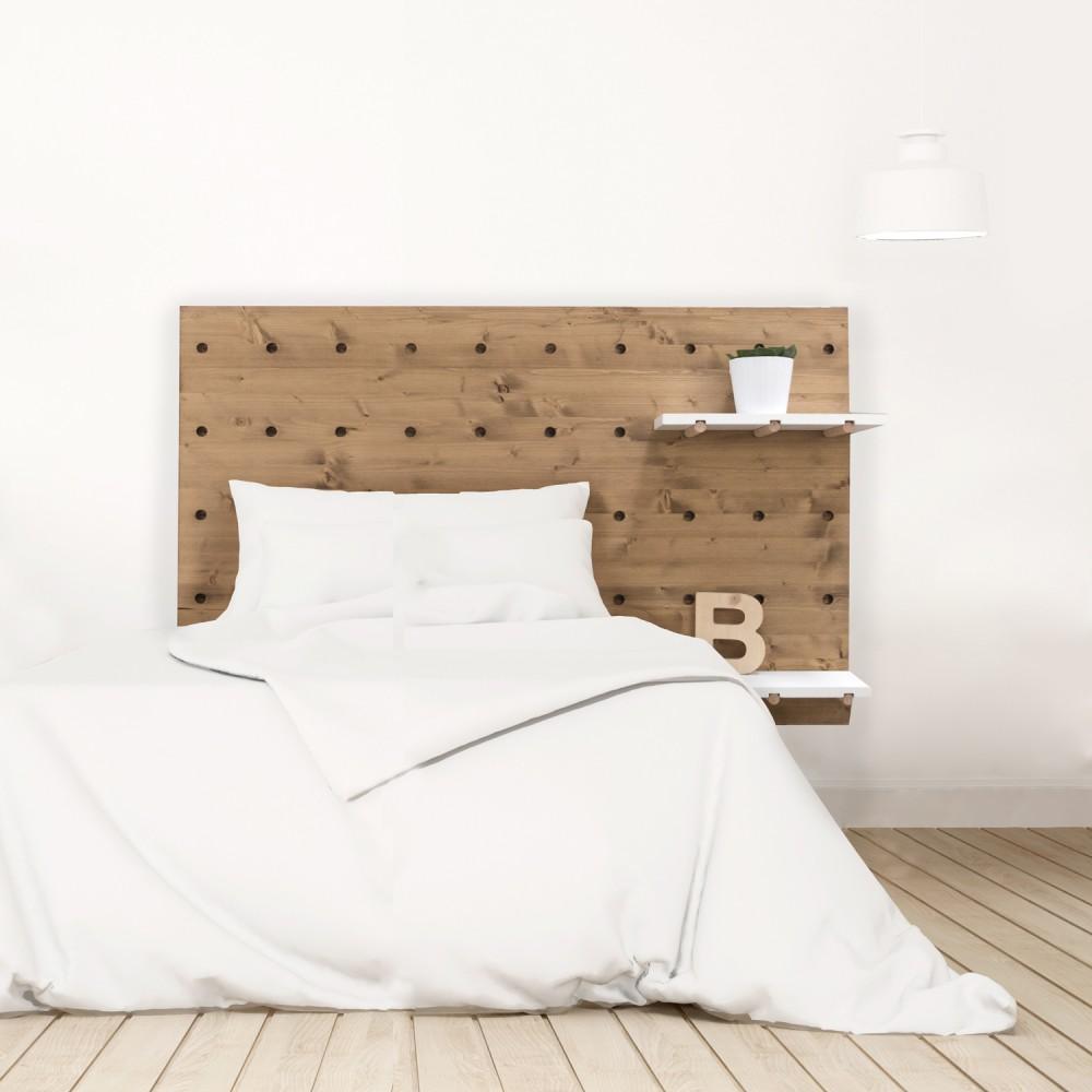 Tete De Lit Ethnique tête de lit nordique en bois | vente de toutes sortes de