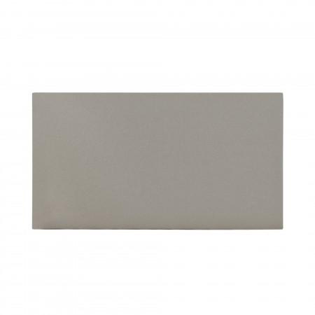 Tête de lit coton Stone gris
