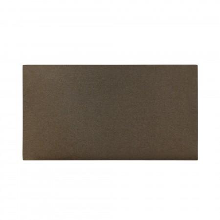 Tête de lit coton Stone brun