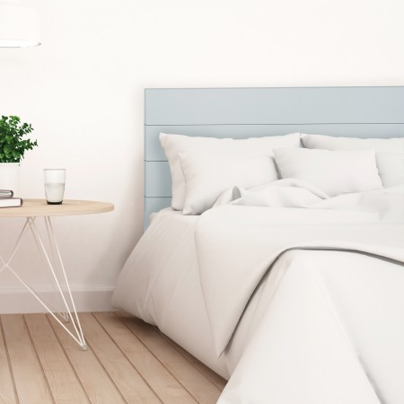 Tête de lit en bois bleuâtre