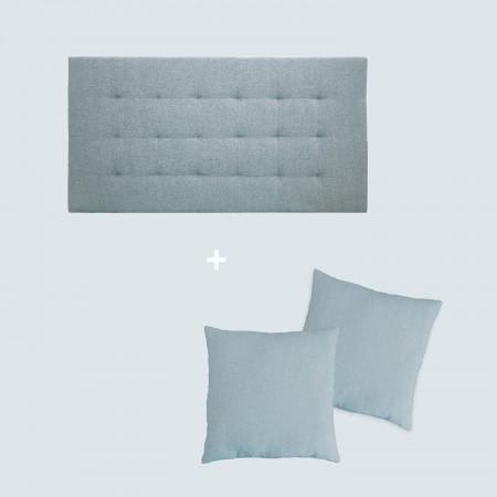 Pack tapizado pliegues azul
