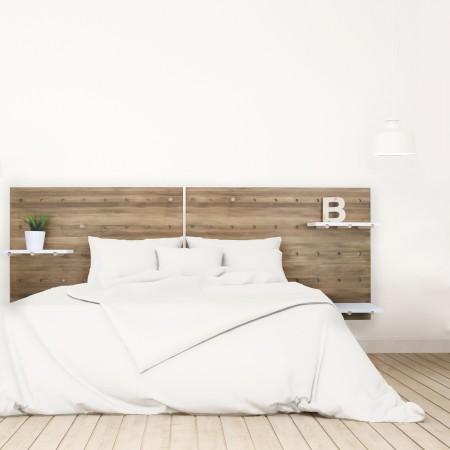 T te de lit nordique en bois ikea vente de toutes sortes - Tete de lit vieux bois ...