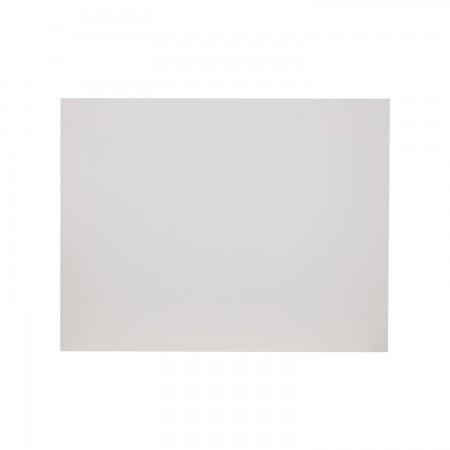 Tête de lit rectangulaire gris