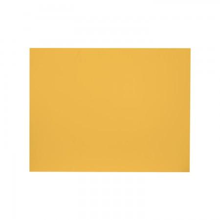 Tête de lit rectangulaire moutarde
