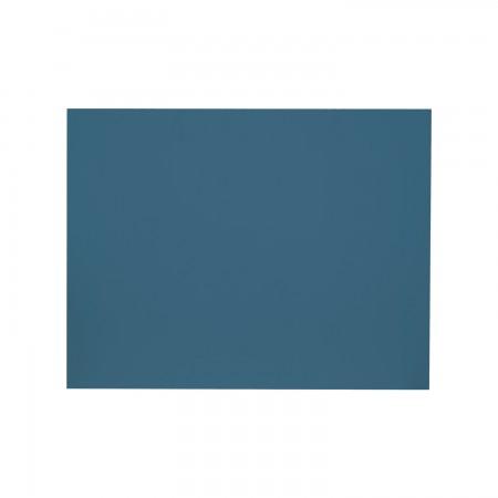 Tête de lit rectangulaire bleu