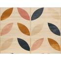 Cabecero natural 'Planta geométrica multicolor'