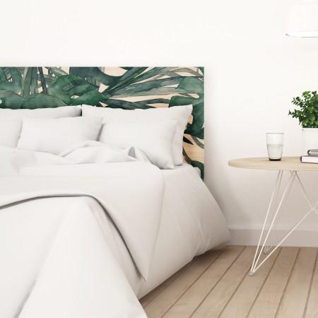 Tête de lit naturel 'Feuilles de palmier'