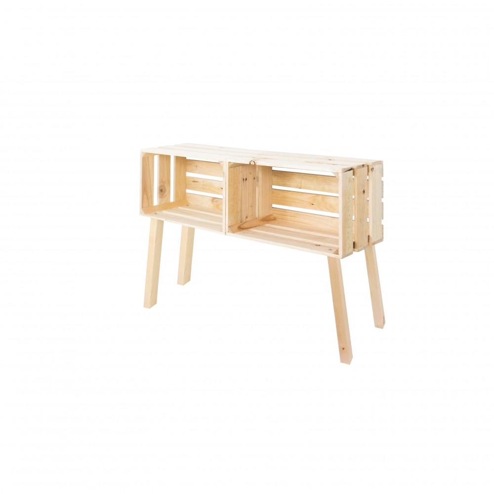 commode naturelle t te de lit. Black Bedroom Furniture Sets. Home Design Ideas