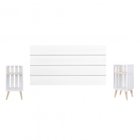 Pack blanc horizontal