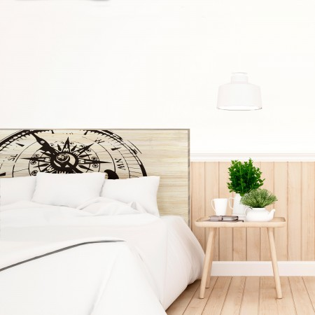 t te de lit en bois naturel nord vente de toutes sortes. Black Bedroom Furniture Sets. Home Design Ideas