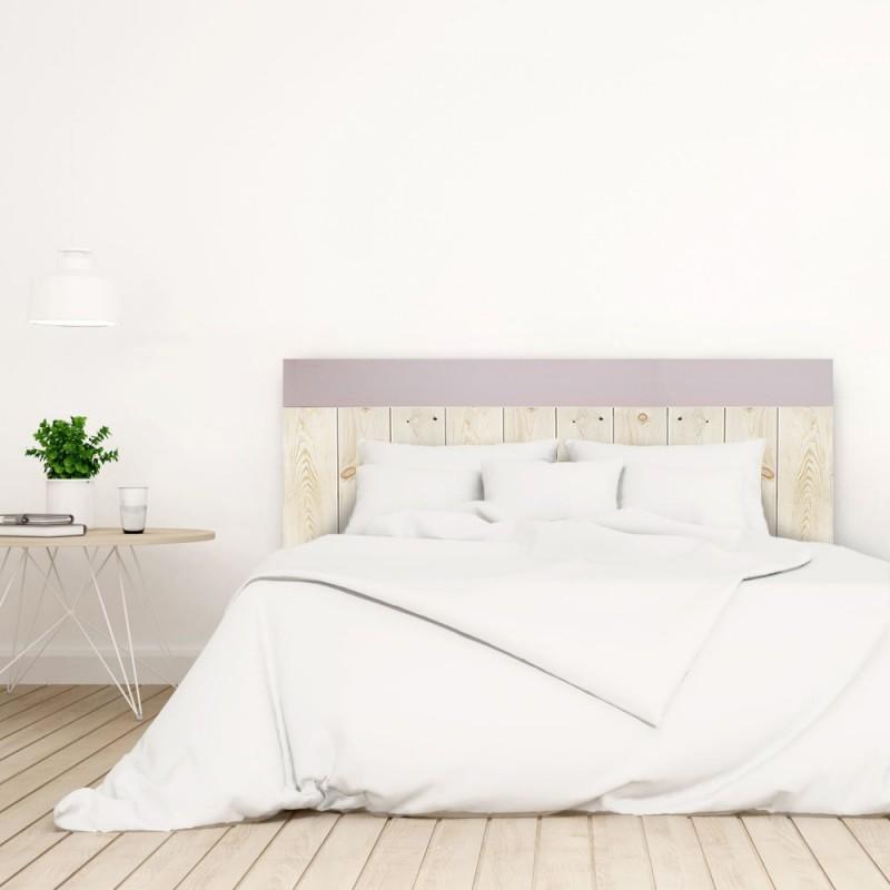 t te de lit crooked forest naturelle et rose pastel vente de toutes sortes de t tes de lit online. Black Bedroom Furniture Sets. Home Design Ideas