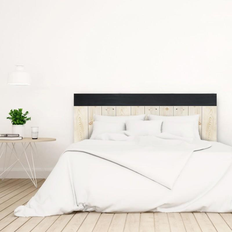 t te de lit crooked forest naturelle et noir vente de toutes sortes de t tes de lit online. Black Bedroom Furniture Sets. Home Design Ideas