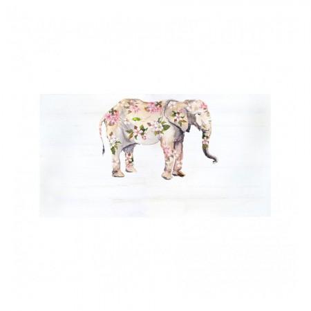 Tête de lit 'Boho éléphant'