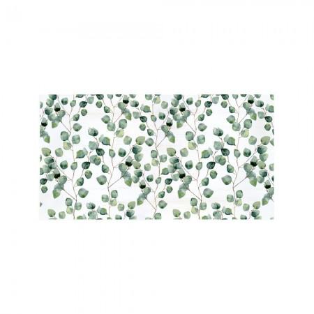 Tête de lit décapage 'Petites feuilles'
