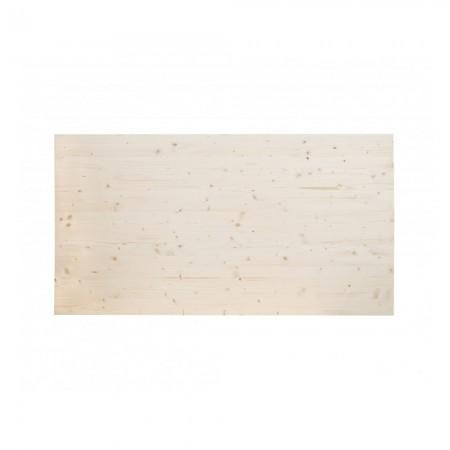 Tête de lit en bois de sapin naturel