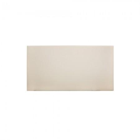 Tête de lit simili cuir lisse beige