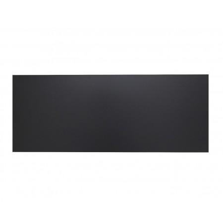 Tête de lit en bois noir nordic