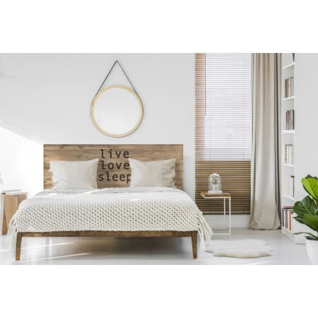 Tête de lit effet live love sleep