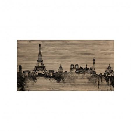 Tête de lit effet vielli Paris