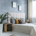 Tête de lit vintage blanc et vieilli Flandre