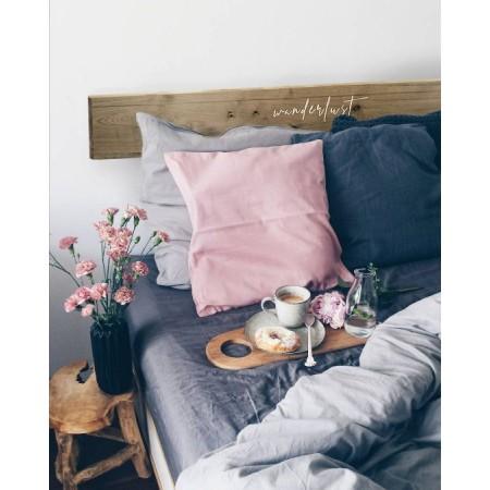 Tête de lit en bois vieilli 'Wanderlust Romántico'
