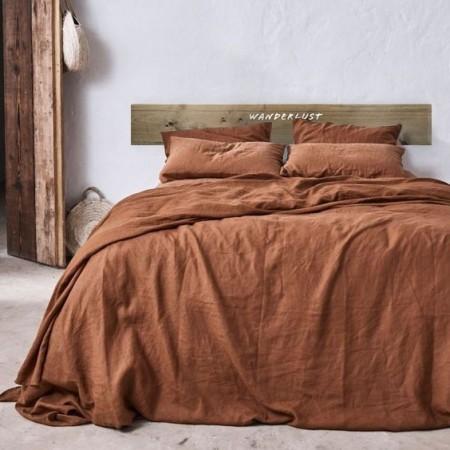 Tête de lit en bois antique 'Wanderlust'