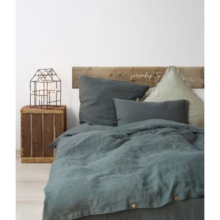 Tête de lit en bois vieilli 'Serendipity tropical'