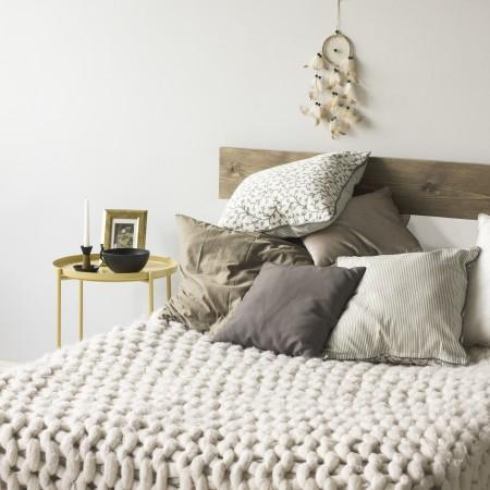 Tête de lit en bois 'Lone'