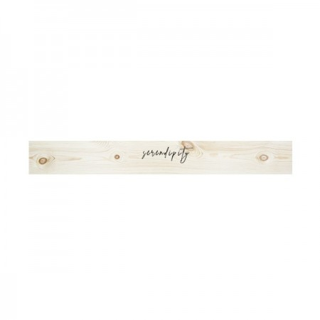 Tête de lit en bois naturel 'Serendipity'