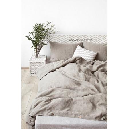 Tête de lit en bois de saumure 'Centre Wanderlust'