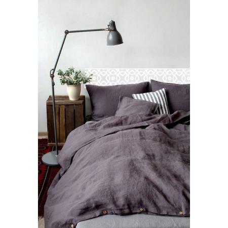 """Tête de lit en bois de saumure '' Mosaïque blanche """""""