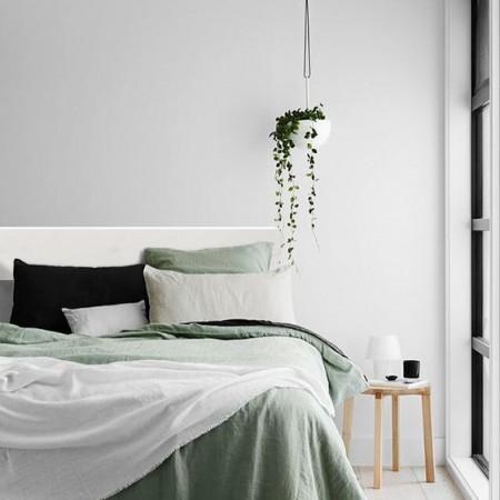 Tête de lit en bois de décapage 'lone'