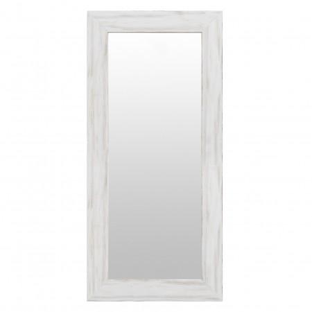 Miroir en bois mat