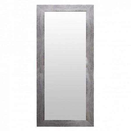 Miroir En Bois Argenté
