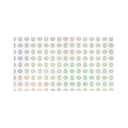 Tête de lit décapée couleurs degradees