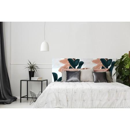 """Tête de lit décapée """"Vintage Flowers"""""""