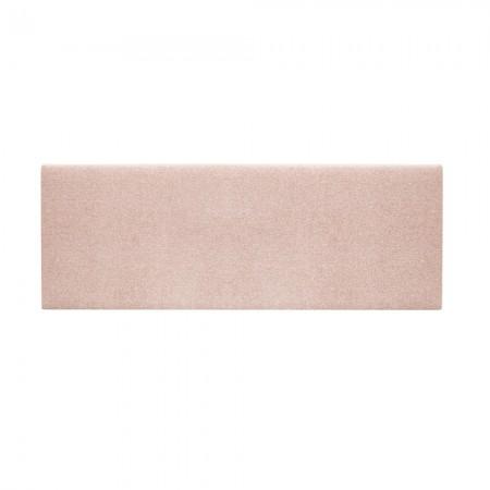 Tête de lit tapissée Hoola lisse rose pale