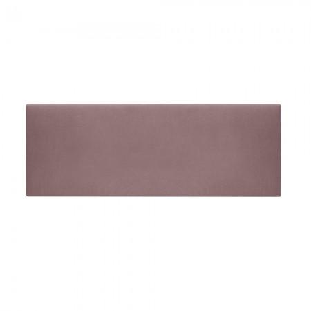 Tête de lit tapissée Mimuk bordeaux clair