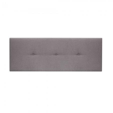 Tête de lit tapissée Hoola boutons violet
