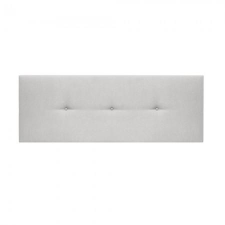 Tête de lit tapissée Mimuk boutons os