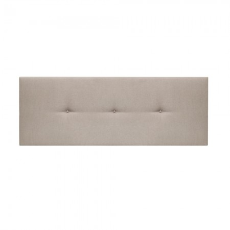 Tête de lit tapissée Mimuk boutons cannelle