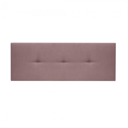 Tête de lit rembourrée Boutons roses Mimuk