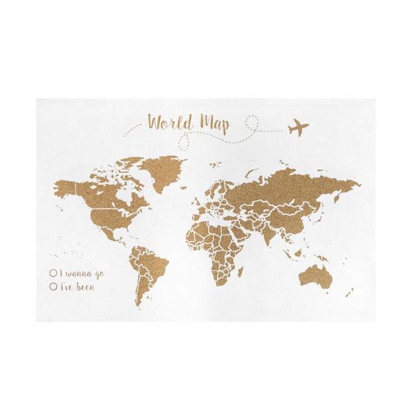 Liège carte du monde blanche investi