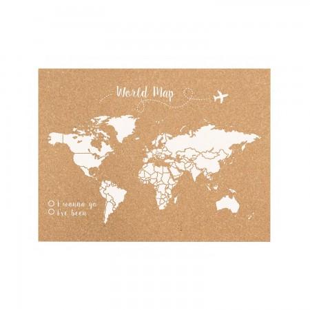 Liège carte du monde blanche