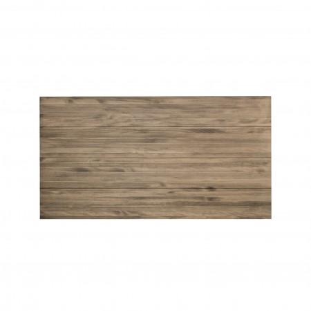 Tête de lit en vieux bois