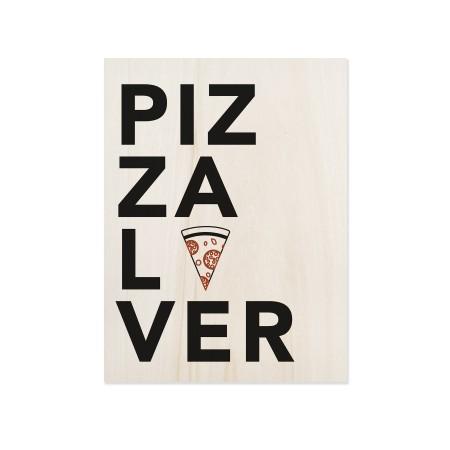 Boîte en bois Pizza Lover
