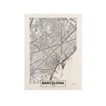 Boîte en bois Barcelona
