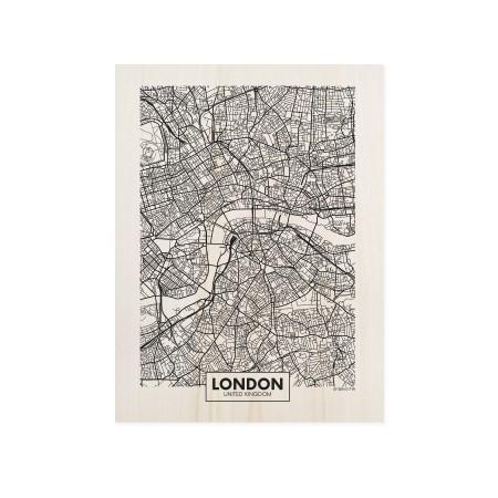 Boîte en bois London